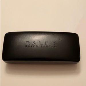 Ralph Lauren Eyeglass Case Black Hard Shell